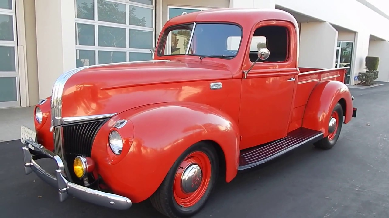 1941 Ford 1 2 Ton Pick Up Henry Steel Sorry Sold Youtube