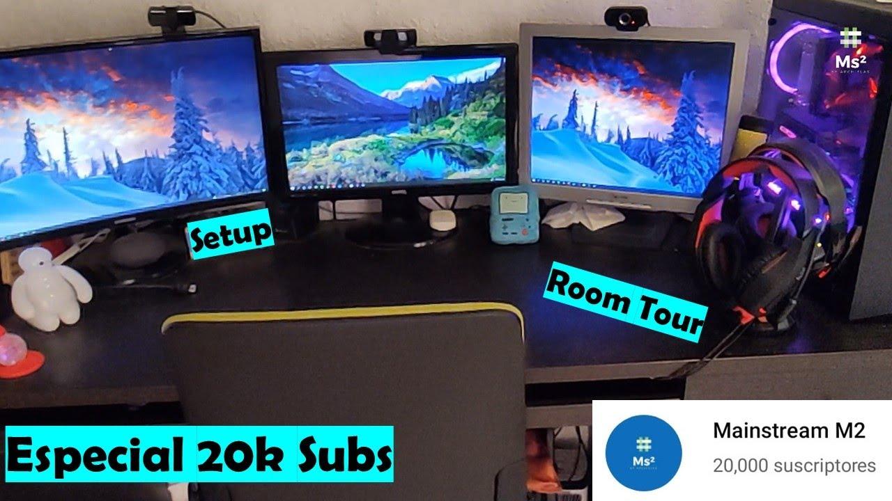 #Room #Tour #Setup Oficina / Habitación Mainstream M2   Donde La Magia Se Hace   #Especial 20k Subs