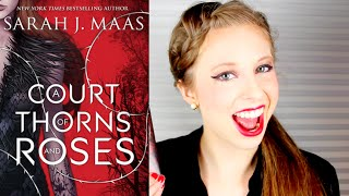 A COURT OF THORNS AND ROSES BY SARAH J MAAS | booktalk with XTINEMAY