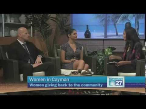 Women giving back to the community Cayman 27