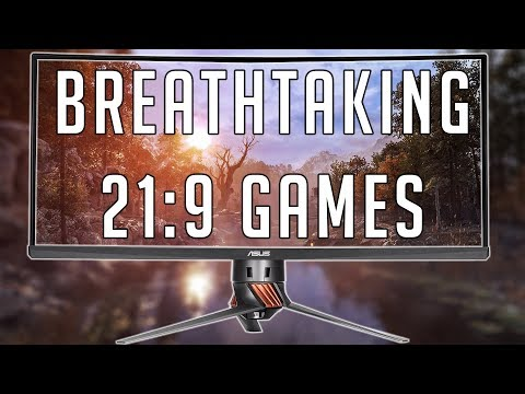 BREATHTAKING GAMES TO PLAY IN 21:9 (Ultrawide)