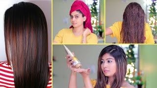 5 HAIR CARE HACKS For SILKY, SMOOTH, SHINY HAIR | My Go-To All In One Hair Products | Giveaway
