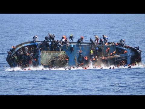 Another migrant ship overturns in Mediterranean Sea