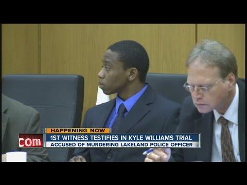 First Witness Testifies In Kyle Williams Trial