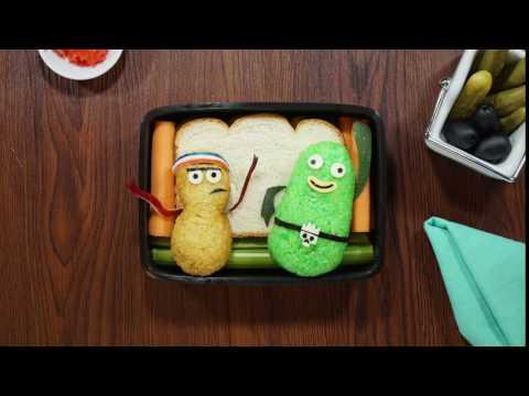 Pickle and Peanut   Bento Box   Sketchbook   Disney XD
