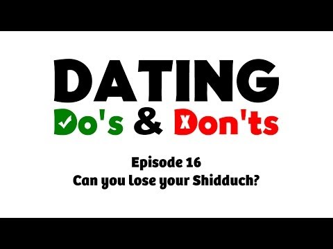 Taking on Shidduch Dating As a Parent Would