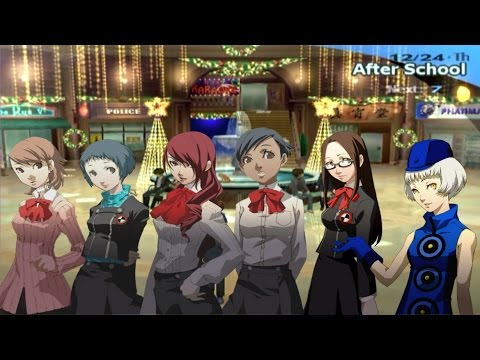 Persona 3 FES Max Social Links: 12/24 and 12/25 - Christmas with ...