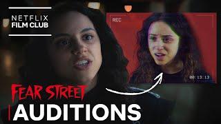 FEAR STREET Audition Vs Actual Scene