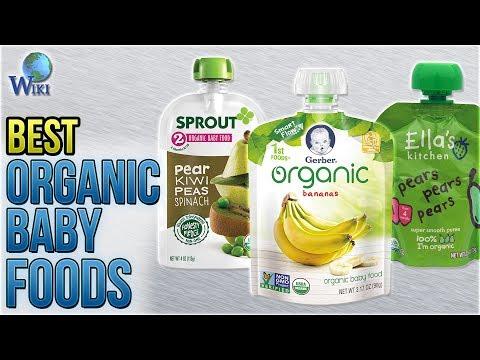 10 Best Organic Baby Foods 2018