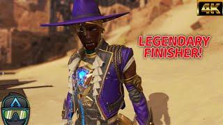 New Apex Legends Seer Legendary Quickdraw Finisher With Legendary Heartthrob Skin! #4K