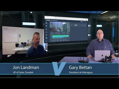 Teradek VidiU Go with Jon Landman from Teradek guys News Day 2sDay  Webinar