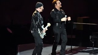U2 - The Little Things That Give You Away (new song live in Vancouver, 2017)