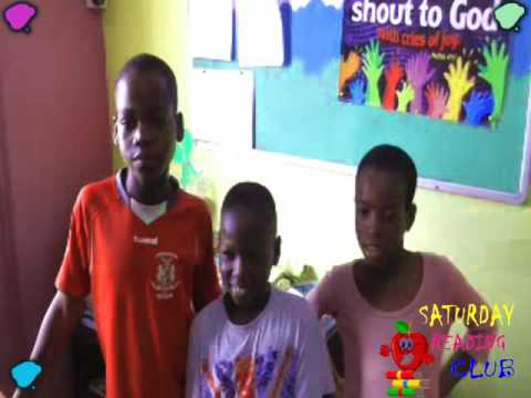 The Saturday reading club at the King's school lagos