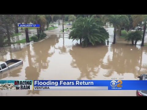 Storm Watch: Flooding Feared As More Rain Moves In