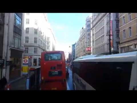 (HD) Route 9 Visual - Hammersmith to Aldwych