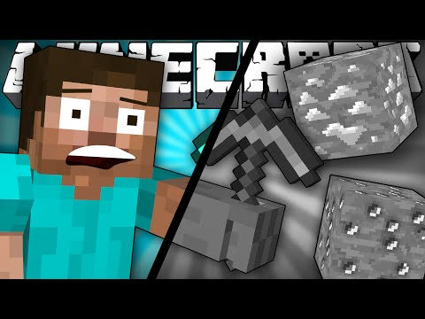 Thumbnail: If Minecraft was Black and White