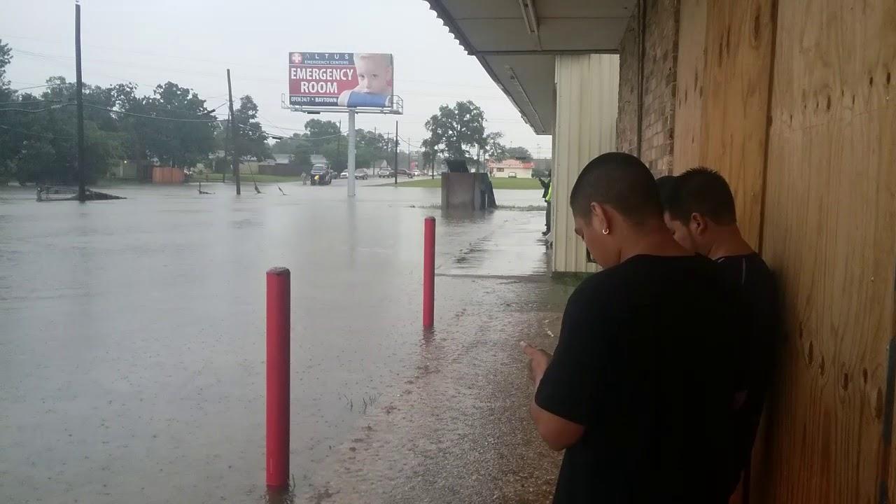 Baytown Flooding!! - YouTube