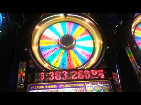 AMAZING Run With $20 - Wheel Of Fortune Slot - HUGE WIN!!