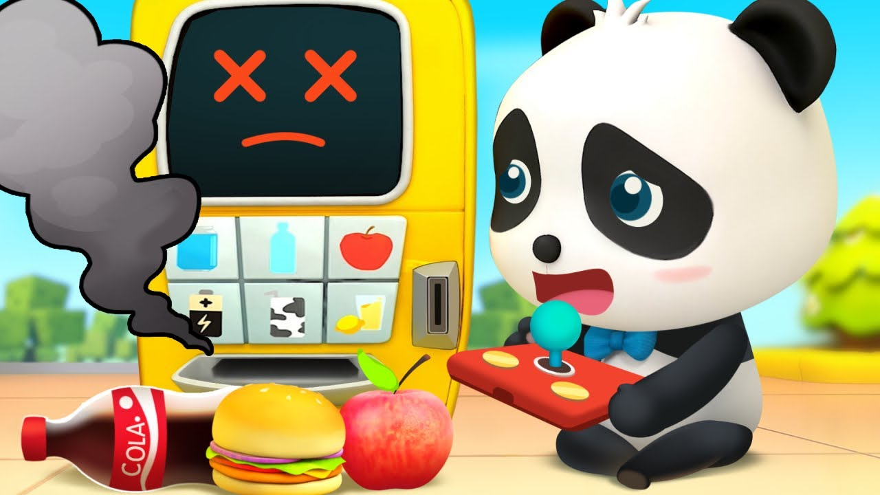 La Máquina Expendedora Mágica   Dibujos Animados Infantiles   Kiki y Sus Amigos   BabyBus Español - YouTube