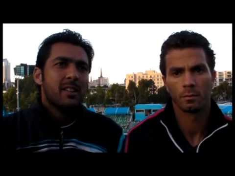 Qureshi & Rojer Discuss Team Strengths In Melbourne