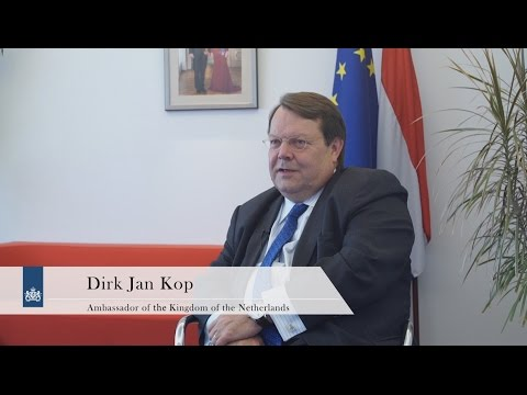 Interview with Dirk jan Kop, Ambassador of the Kingdom of the Netherlands