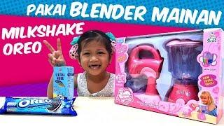 Unboxing Mainan Anak Mixer + Mainan Blender Bisa Muter | Buat Milkshake Oreo Pakai Mainan Dapur