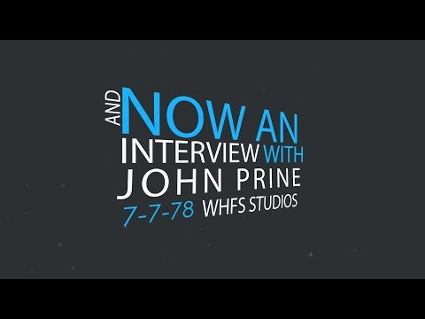 WHFS - John Prine Interview (unedited)