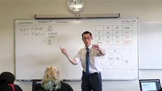 Conditional Probability (6 of 7: Analysis with a Venn diagram)