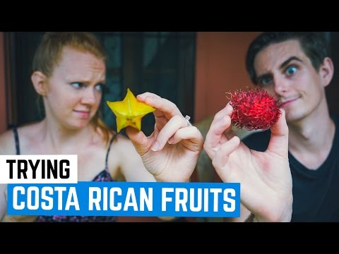 Americans Try Strange Costa Rican Fruits!