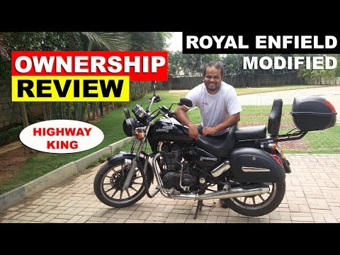 Royal Enfield Highway King Ownership Review Long Term Youtube