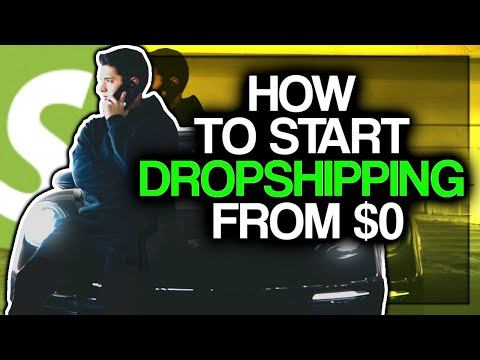 How To Start Dropshipping With No Upfront Money thumbnail