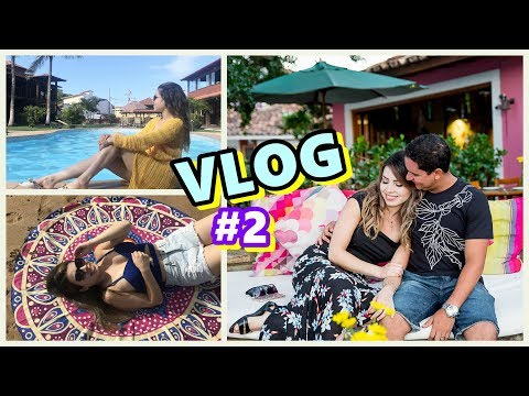Vlog Viagem romântica Búzios, me vesti de noiva na praia.... #2 | PALOMA SOARES