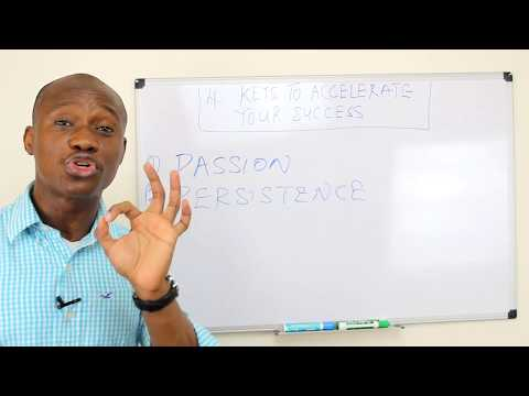 4 Keys To Accelerate Your Success
