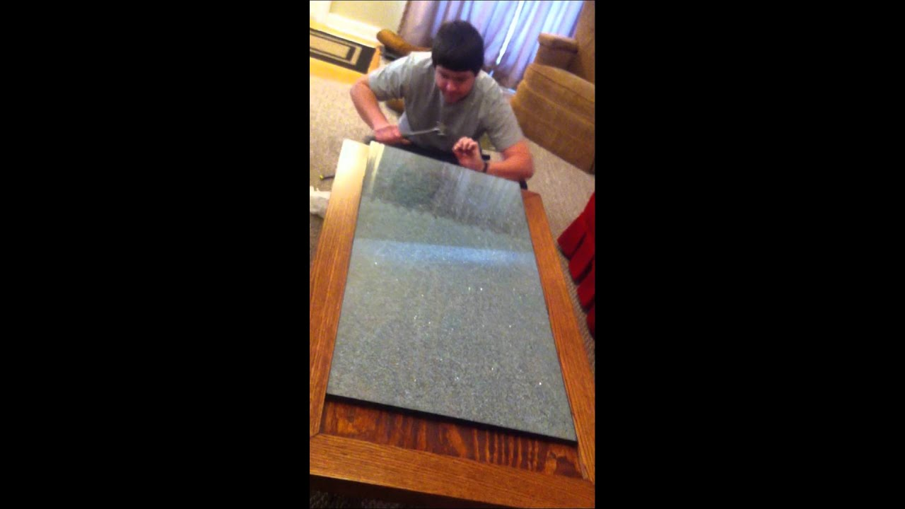 Tempered Glass Coffee Table Youtube