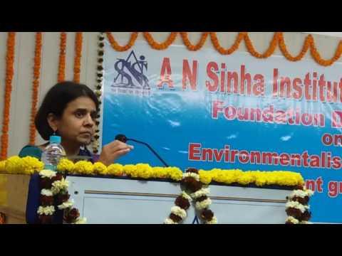 "ANSISS ""Control vehicles number for Environmental Conservation"" : Padma Sri Dr Sunita Narian,DG,CSE"