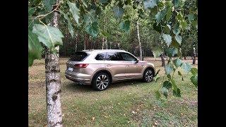 VW Touareg 2019 test PL i technika Matrix LED oraz Night Vision Pertyn Ględzi