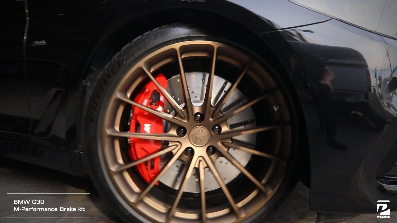 Bmw M Performance Brake Kit Bmw G30 5 Series ล อ Hre P103 Mat