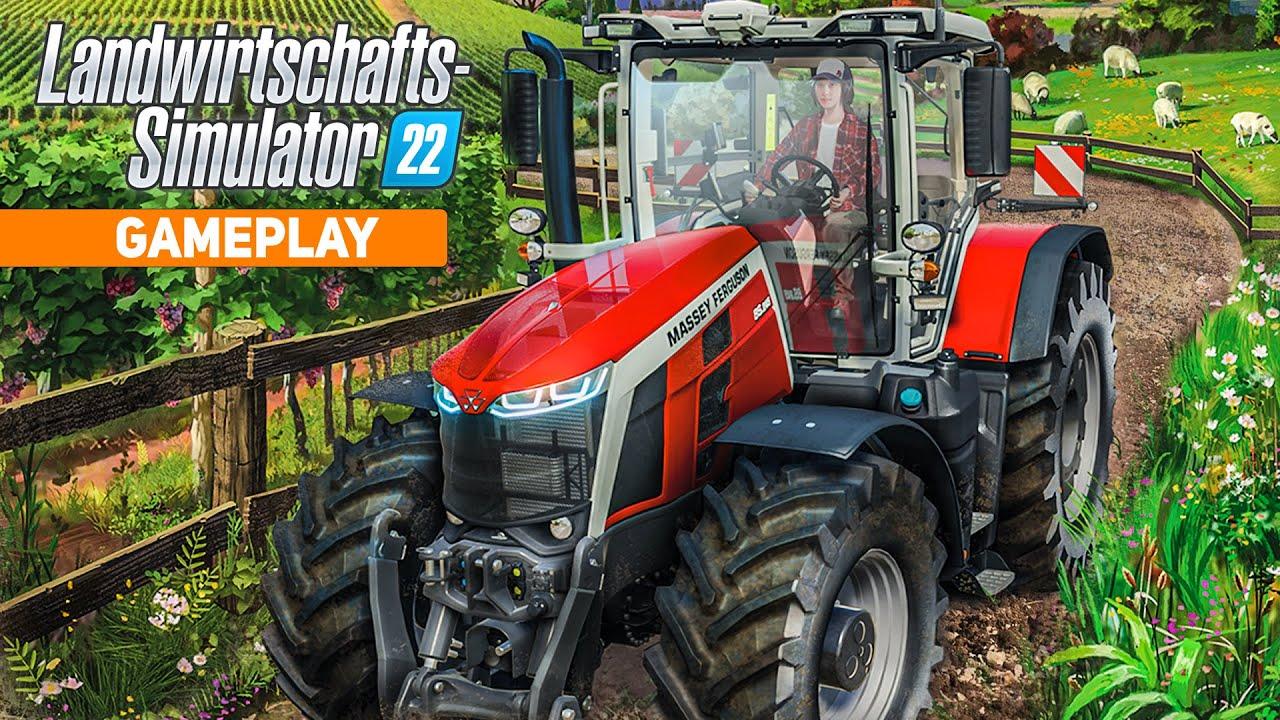 LS22: Gameplay Preview zu Trauben, Traktoren, Bau-Modus und Produktionen | FARMING SIMULATOR 22