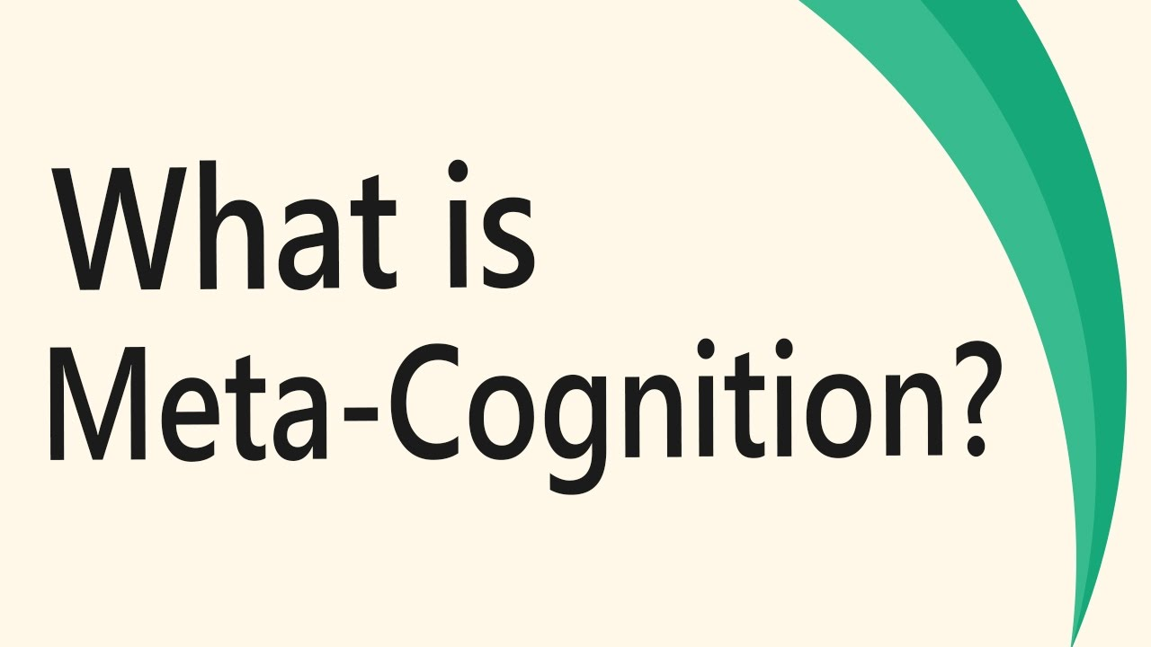 do you think metacognition is important Metacognition is one's ability to use prior learners to examine and develop their metacognitive processes do not think about these.