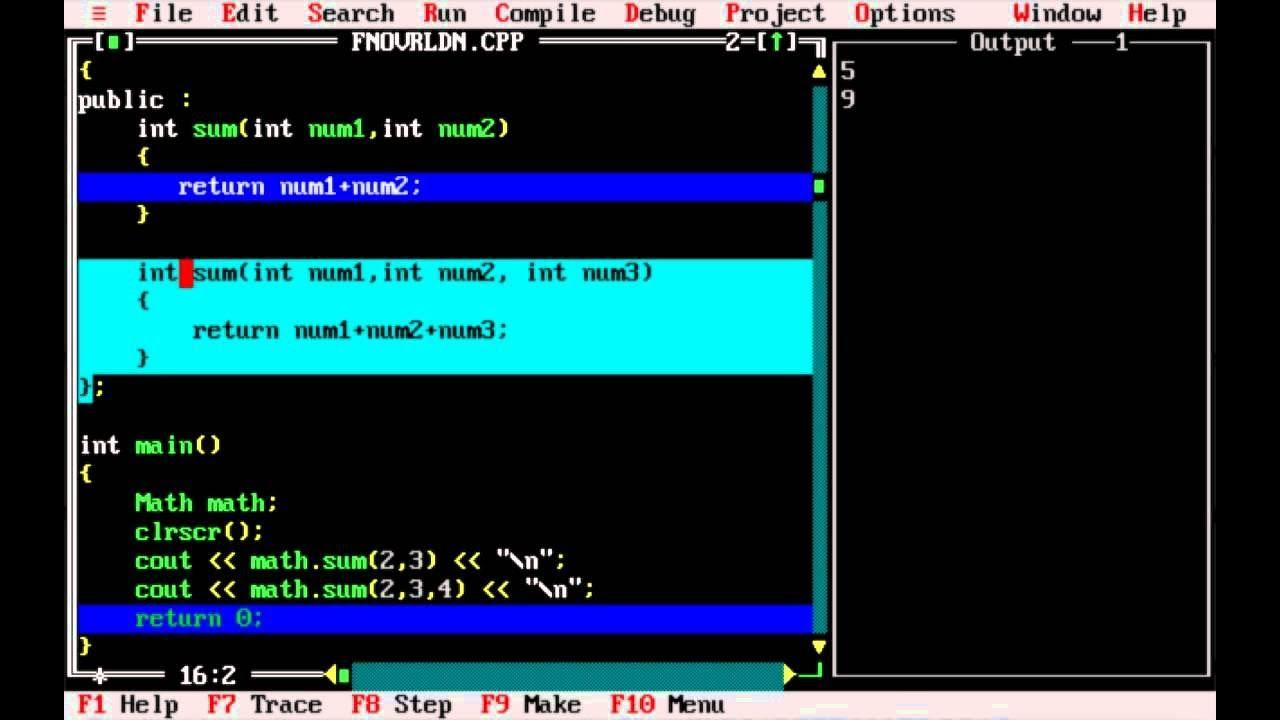 C++ tutorial in Telugu - Function Overloading and Default Arguments