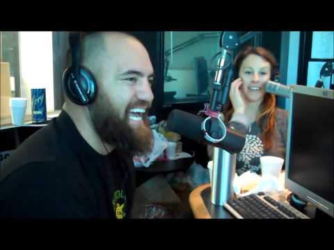 """UFC Fighter Travis """"Hapa"""" Browne on The Show Rock 105.3"""