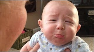Funniest Babies Upset When Dad and Mom singing -  Funny Fails Baby Video