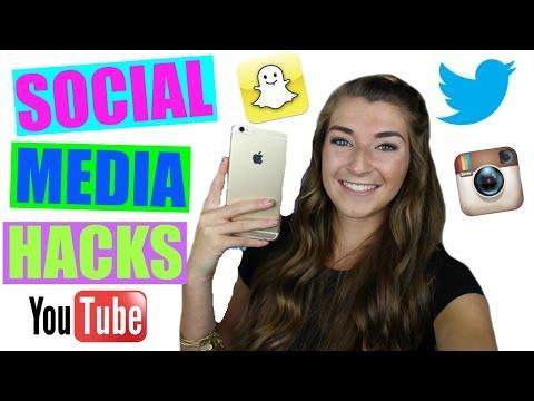 Social Media / Internet Hacks 2016!