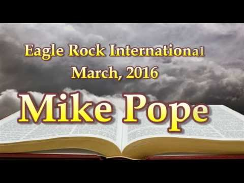 Chief Master Sergeant Mike Pope Eagle Rock Int'l March 2016