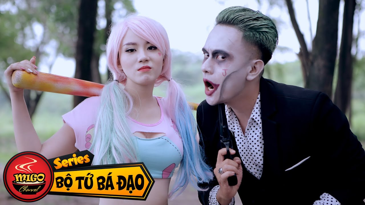 [Bộ Tứ Bá Đạo] Tập 19 : Biệt Đội Điên Loạn (Harley Quinn & Joker)