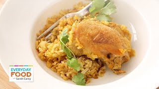 Curried Chicken With Coconut Rice - Everyday Food With Sarah Carey