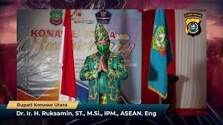 Ucapan HUT Ke-1 Polres Konawe Utara Dr. Ir. H. Ruksamin, ST., M.Si., IPM., ASEAN. Eng