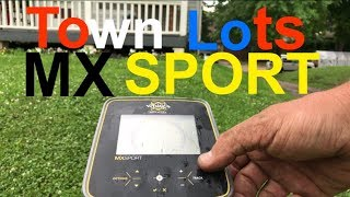 Metal Detecting MX Sport Detech 13