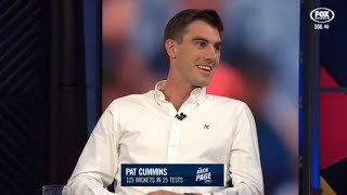 Pat Cummins chats all things Ashes, Steve Smith, Tests and sledging | The Back Page