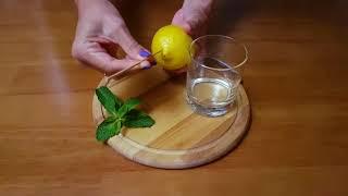 Как быстро выдавить сок из лимона, не разрезая его
